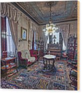 The Copper King's Music Room - Butte Montana Wood Print
