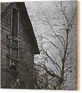 The Cowards Climb  Wood Print