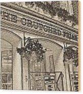 The Crutched Friar Public House Wood Print