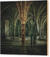 The Crypt Wood Print