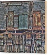 The Current History II Wood Print