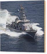The Cyclone-class Coastal Patrol Ship Wood Print