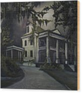 The Dark Plantation Wood Print by James Christopher Hill