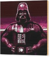 the Dark Side is Strong Wood Print