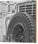 The Dead Work Truck Wood Print