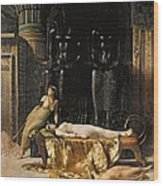 The Death Of Cleopatra  Wood Print