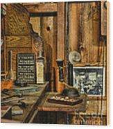 The Dentist Office Wood Print