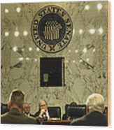 The Department Of Defense Address Wood Print