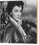 The Desert Song, Kathryn Grayson, 1953 Wood Print by Everett