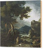 The Destruction Of Niobe's Children Wood Print