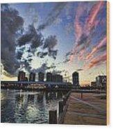 The Dockyard Wood Print