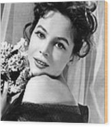 The Doctors Dilemma, Leslie Caron, 1958 Wood Print by Everett