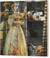 The Doll Salzburg Wood Print by Mary Machare