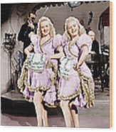 The Dolly Sisters, From Left Betty Wood Print