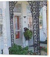 The Door's Unlock Wood Print