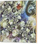 The Dream Swan Wood Print by Odon Czintos