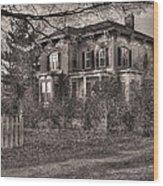 The Duchess Wood Print