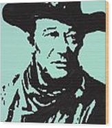 The Duke In Color Wood Print