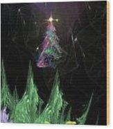 The Egregious Christmas Tree 2 Wood Print