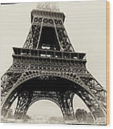 The Eiffel Tower Wood Print