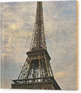 The Eiffel Tower Wood Print by Laurie Search