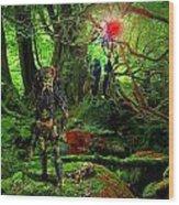 The Elders Wood Print