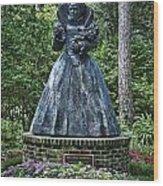 The Elizabethan Gardens Wood Print
