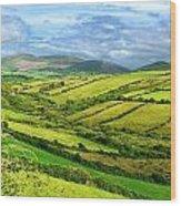 The Emerald Island Wood Print