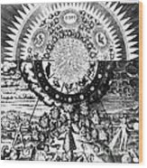 The Emerald Tablet, 1618 Wood Print