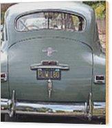 The End Of Chrysler Wood Print