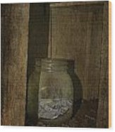 The Endless Jar  Wood Print by Empty Wall