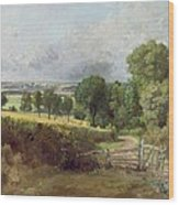 The Entrance To Fen Lane By Constable John Wood Print by John Constable