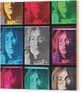 The Essence Of Light- John Lennon Wood Print