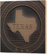 The Eyes Of Texas Are Upon You Wood Print