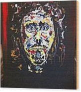 The Face Of Christ Wood Print
