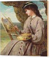 The Fair Amateur Wood Print