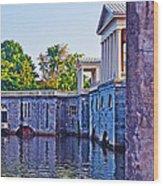 The Fairmount Waterworks In Philadelphia Wood Print