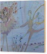 The Fairy Tale Ballet Wood Print