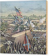 The Fall Of Petersburg To The Union Army 2nd April 1965 Wood Print