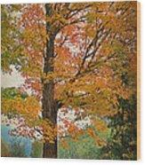 The Fay Tree Wood Print