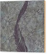 The Feather Wood Print