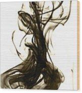 The Feminine Side Wood Print