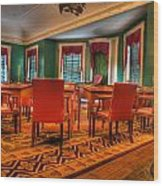 The First American Congress Senate Chamber - Independence Hall - Congress Hall -  Wood Print