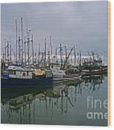 The Fishing Fleet Wood Print