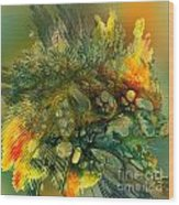 The Flavor Of Autumn Wood Print