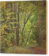 The Forest Wood Print
