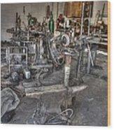 The Forge Wood Print