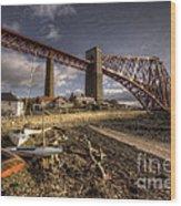 The Forth Rail Bridge Wood Print