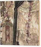 The Fortune Teller Palmistry Wood Print
