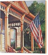 The Founders Home Wood Print